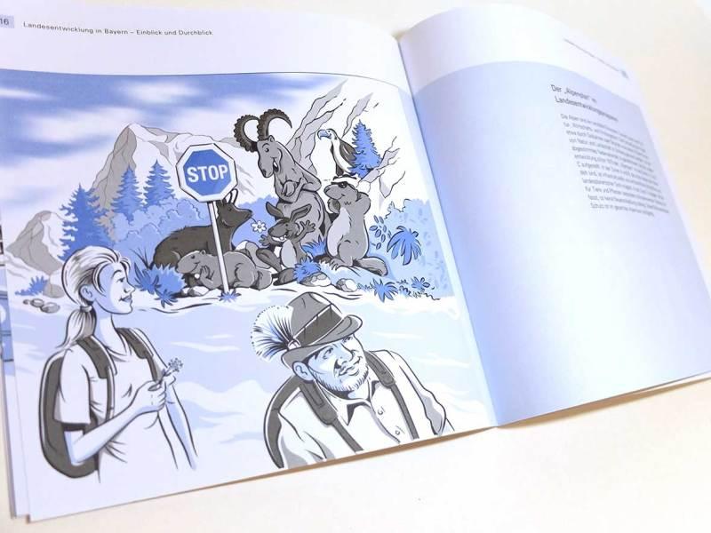 Illustration für Broschüre