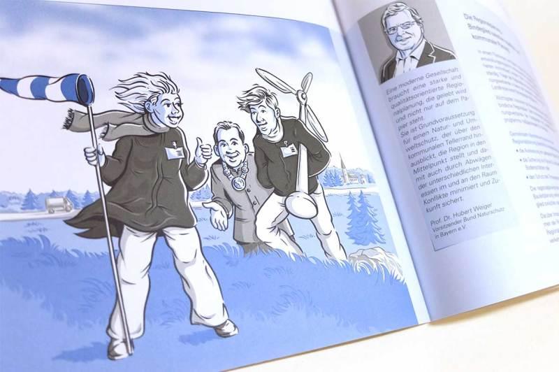 Illustrator für Broschüre