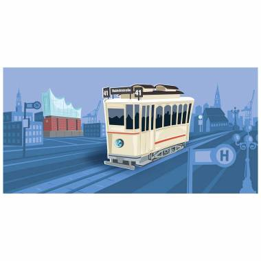 Illustration Hamburg historisch