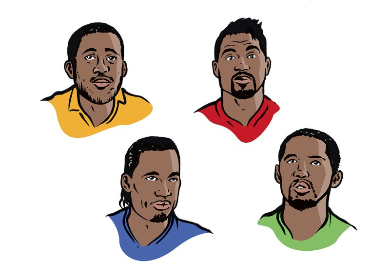 Portraits für Schulbuch von Illustrator Carsten Knappe
