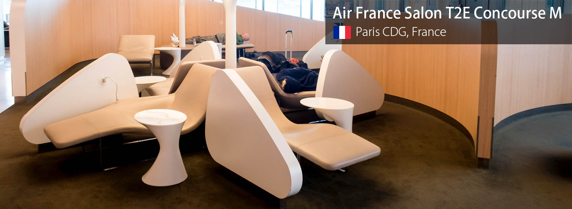 Review Air France Business Class Lounge Paris Cdg T2e Hall M
