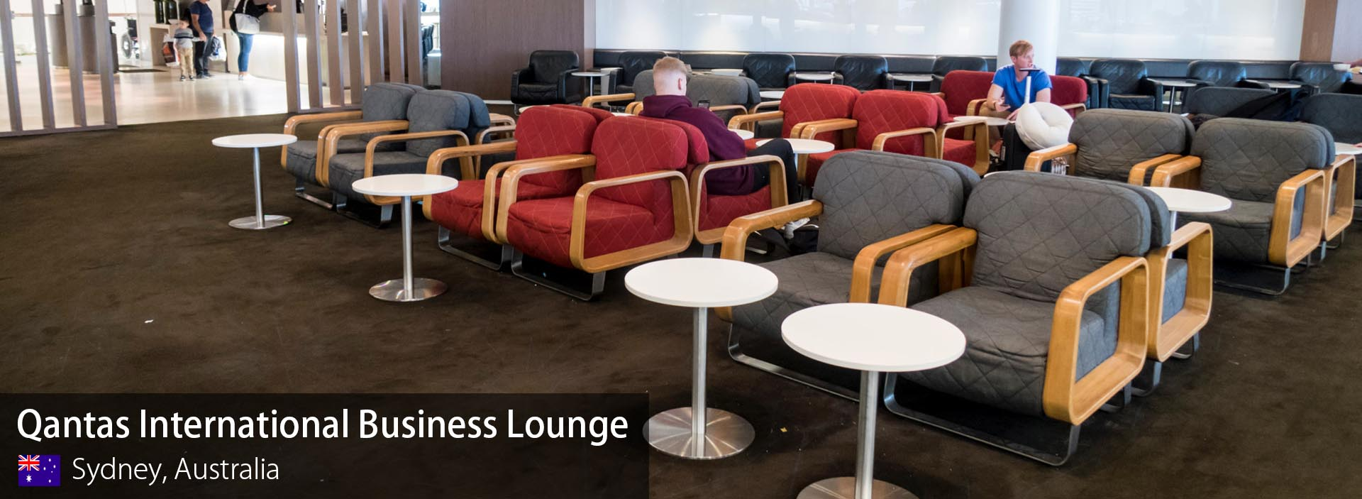 Lounge Sydney Review Qantas Business Class Lounge At Sydney Kingsford Smith