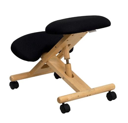 Ergonomic Knee Chair Review: Flash Furniture Ergonomic Wooden Stool