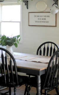 Black and White Farmhouse Kitchen Update - Knick of Time
