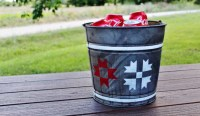 How to Make Galvanized Metal Look Old & Patriotic Barn ...
