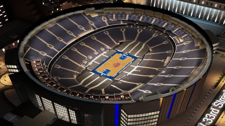 Ny Rangers 3d Wallpaper New York Knicks Virtual Venue By Iomedia