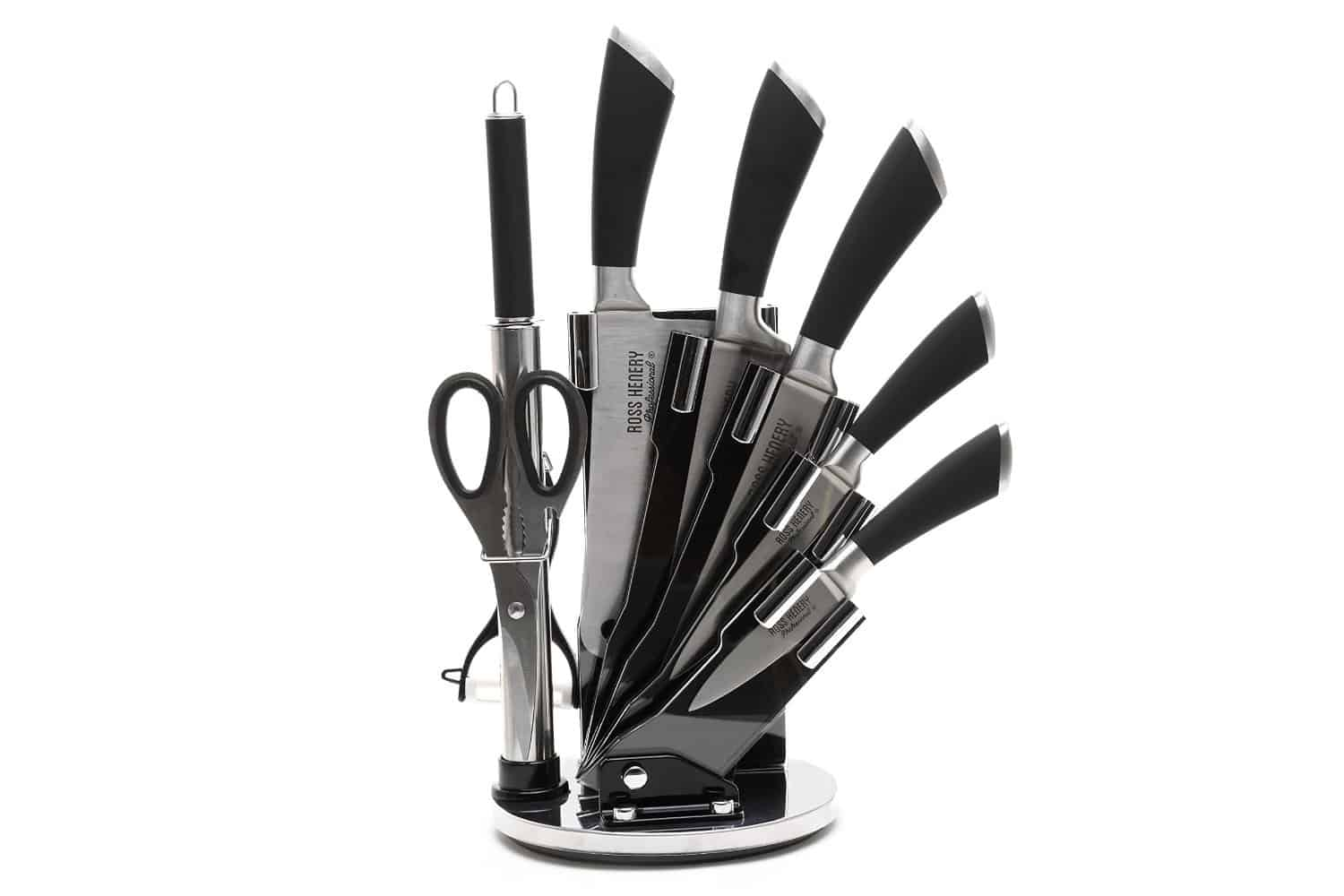 ross henery stainless steel piece kitchen knife set review cooks knife paring knife carving fork