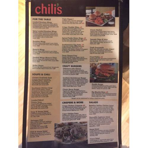 Medium Crop Of Chilis Drink Menu