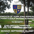 Knights of York 23rd Annual Charity Golf Outing