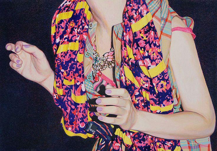 Naomi Okubo: Pin Ups, knittedbliss.com