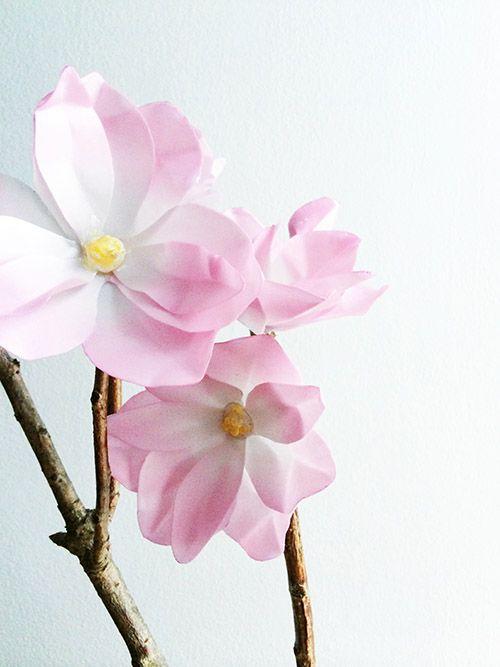 PIn Ups: Paper Magnolias | knittedbliss.com
