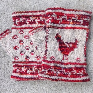 Modification Monday: Chicken Mitts | knittedbliss.com