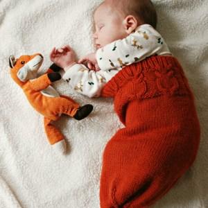Baby Sleep Sack| knittedbliss.com