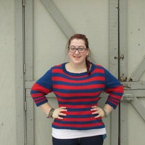 Modification Monday: Accidental Stripes | knittedbliss.com