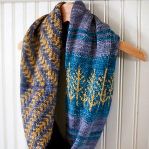 Modification Monday: Modified Pine Bough Cowl | knittedbliss.com