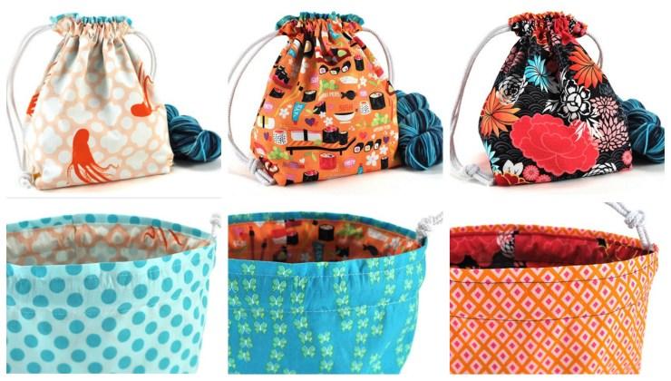 Madbird Project Bags | knittedbliss.com