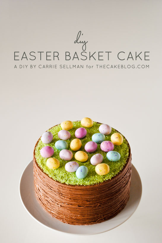 Pin Ups and Link Love: Easter Cake | knittedbliss.com