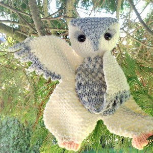 Modification Monday: Owl Floogie | knittedbliss.com