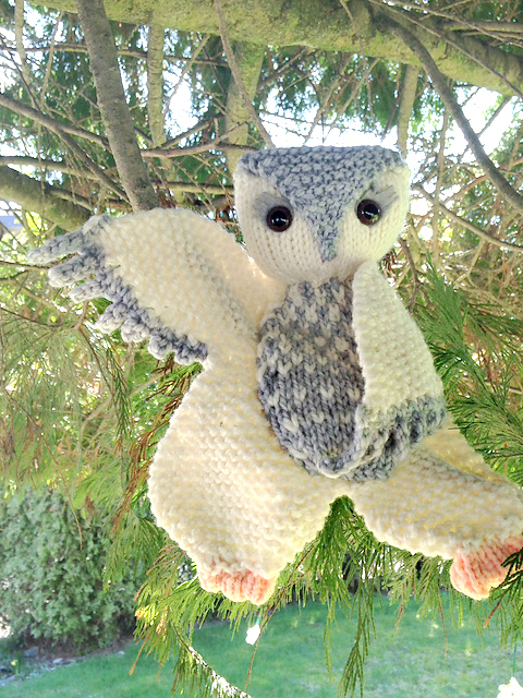 Modification Monday: Owl Floogie | knittedbliss.com