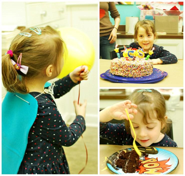 Lila s birthday party michael s superhero craft party for Michaels crafts birthday parties