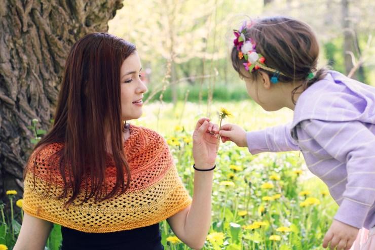 Golden Rose Outtakes | knittedbliss.com