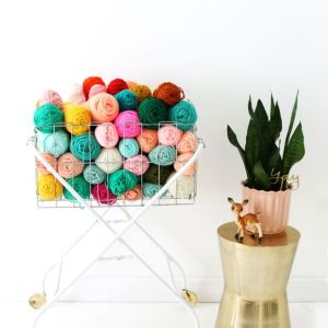Pin Ups and Link Love: Vintage Cart Revamp | knittedbliss.com