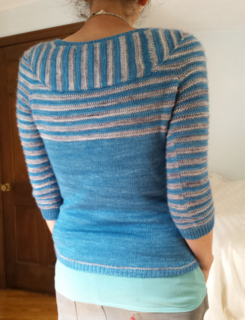 Modification Monday: Amande Love | knittedbliss.com