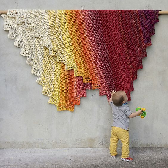 Modification Monday: Marley Blanket | knittedbliss.com
