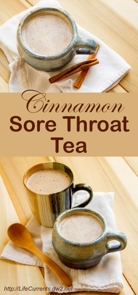 Modification Monday: Cinnamon Sore Throat Tea | knittedbliss.com