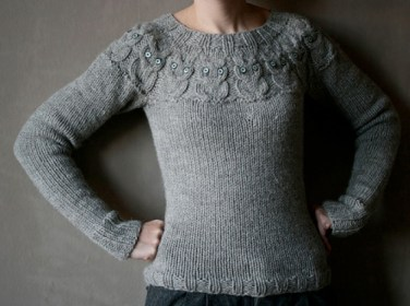 Knitting Pattern For Owl Jumper : ?Owls? Sweater Pattern   Knitting