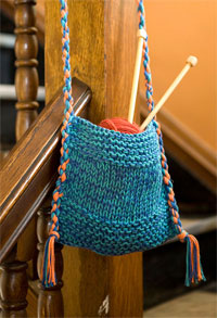 Free Bag Knitting Patterns For Beginners : Perfect Beginner Bag Pattern   Free!   Knitting