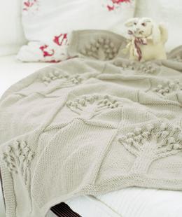 Free Knit Afghan Patterns Download : Free Pattern   Apple Tree Baby Afghan Pattern from Knit Rowan   Knitting