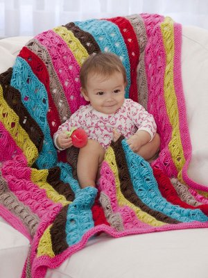 Cute Baby Knitting Patterns Free : Free Pattern   Really Cute Baby Afghan!   Knitting