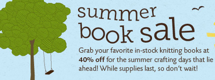knit picks summer books