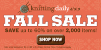 knitting daily sale