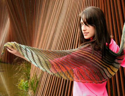 nymphalidea shawl knitty