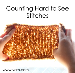 counting stitches