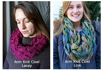 arm knit cowls