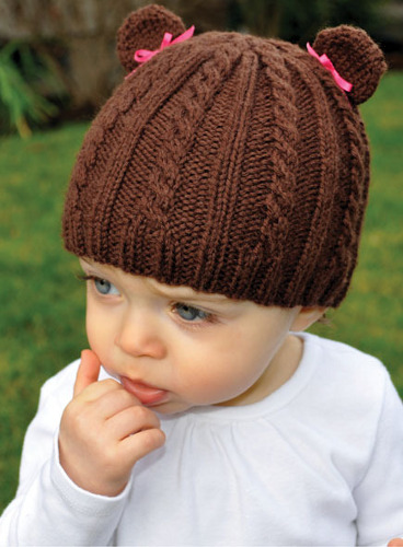 Knitting Pattern Baby Hat With Bear Ears : Knit a Bear Hat for All Ages   Knitting