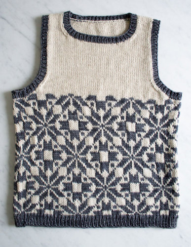 purl soho fair isle vest kids