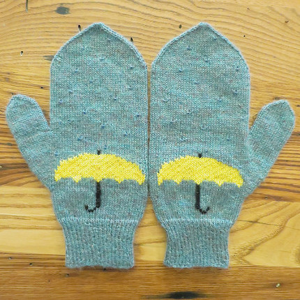 april showers mittens