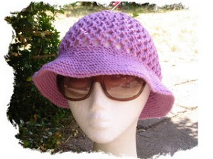 Knitted Bucket Hat Pattern : 8 Knitted Projects for the Beach   Knitting