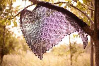 morrigan shawl