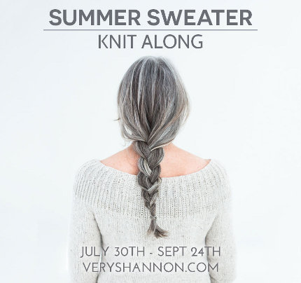 very shannon's summer sweater knitalong