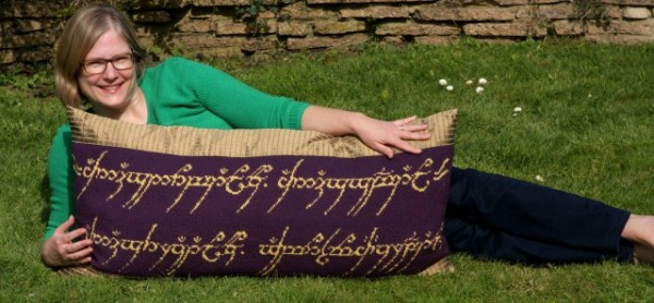 elevish pillow and other knits from pop culture