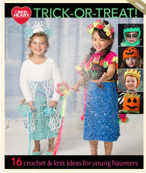 check out this free halloween pattern book from red heart