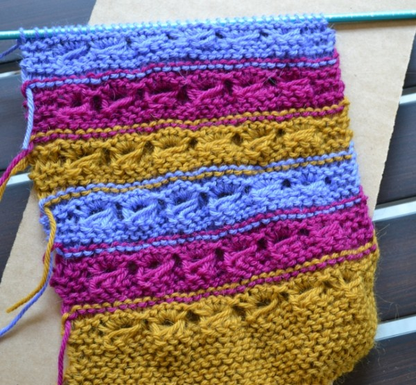 WIP Wednesday: Choose your own adventure scarf