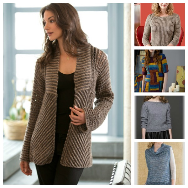 More free sweater patterns to try.