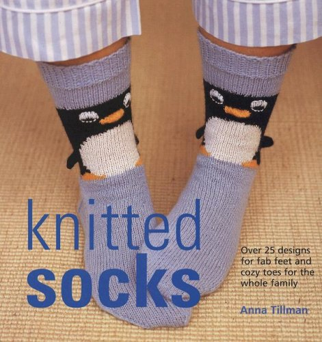 knited socks by anna tillman