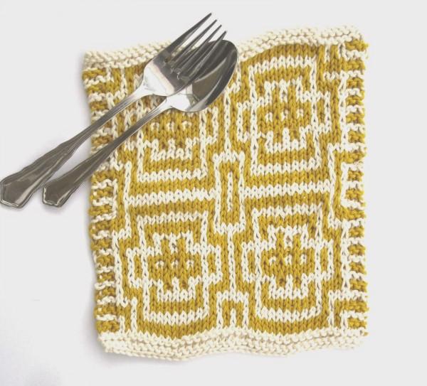Mosaic Knitting Patterns : Knit a Fun Dishcloth in Mosaic Knitting   Knitting